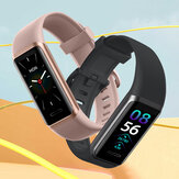Doogee DG Band Bulit-in Alexa Wristband 24H Heart Rate Monitor SpO2 Monitor 14 Sports Modes Custom Dial Real-Time Weather Display 5ATM Waterproof Smart Watch