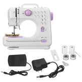 12 Stitches Mini Sewing Machine Household Double Thread Crafting Mend Electric Sewing