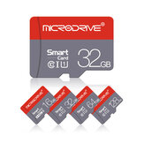 MicroDrive High Speed 16GB 32GGB 64GB 128GB Class 10 TF Memory Card Flash Drive With Card Adapter For iPhone 12 Smartphone Tablet Switch Speaker Drone Car DVR GPS Camera