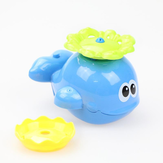 Free Shipping Gift Cikoo baby bath toys rotary automatic sprinkler Whale swimming toys