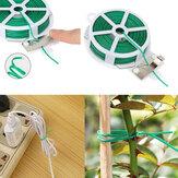 Garten Krawatte Kunststoff Draht Draht Linie Kletterpflanzen Kabel Blume Gurke Traube Rattan Halter