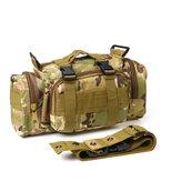 600D ткань Оксфорд талия Сумка Водонепроницаемы тактическая сумка на плечо Сумка сумка На открытом воздухе Кемпинг охота