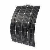 120W 18V Monocrystalline Silicon Semi-flexible Solar Panel Battery Charger with MC4Connector