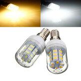 E14 4W Beyaz / Sıcak Beyaz 5730 SMD 27 LED Mısır Işığı Ampulü 12V