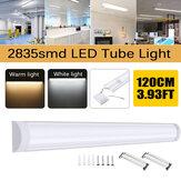 1db 120cm-es LED Batten Lineáris Csőfény Fénycső LED Felületre szerelhető lámpák