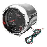 3.75 بوصة 12V RPMx1000 Tacho Tachometer مع Shift ضوء RPM Rev مقياس متر
