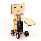 DIY Edukacyjne Elektryczne Walking Swing Fan Robot Naukowe Wynalazek Zabawki