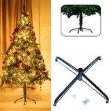2020 Christmas Tree Stand Holder Suporte para árvore de Natal Base de suporte de metal Rack 4 Feets Acessórios para árvore de Natal para decoração de casa de ano novo