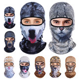 3D Animal Breathable Bicycle Ski Full Face Mask Czapki