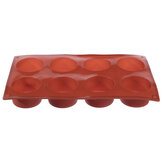 8 Holes Round Silicone Cake Mold Jelly Cookie Muffin Soap DIY Baking Tools