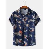Hombres Moda Playa Camisetas con estampado de personaje de dibujos animados