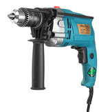 1980W 220V Electric Impact Hammer Drill Household Power Flat Drill 3800RPM