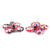 Eachine US65 UK65 65mm Whoop FPV Racing Дрон BNF Crazybee F3 Контроллер полета OSD 6A Blheli_S ESC