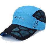 Men Quick Dry Hat Breathable Baseball Cap Sport Peaked Caps