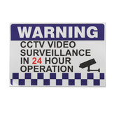 100x150mm Interne Waarschuwing CCTV Security Surveillance Camera Decal Sticker