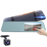 1080P HD 5.18 pollici Touch Screen Dash Cam Car DVR fotografica registratore con specchietto retrovisore