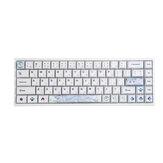 118 tasti White Monster Japanese Keycap Set XDA Profile PBT DYE-Sub Keycaps per Meccanico Keyboard