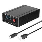 ATU100 1.8-55 Mhz Automatische Kortegolf Antenne Tuner USB Type-C Oplaadbaar met 0.96 inch OLED Display