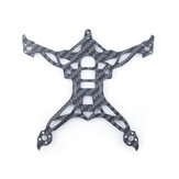 GEELANG Titan 120X DJI Toothpick Part 3K Carbon Fiber 2.5mm Frame Bottom Plate for FPV Racing Drone