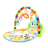 3-In-1 Baby Kid Playmat Play Musical Pedal Piano Activity Soft Fitness Play Mat