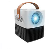 L7 Mini Smart LCD Projector 2000 Lumens Portable 3D Projector for Home Theater Support 1080p For Playing Games