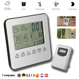 Bakeey Weather Station Thermometer LCD Display Multifunctional Weather Forecast Electronic Clock