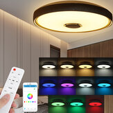 36/60W LED Ceiling Light RGB bluetooth Music Speaker Lamp Dimmable APP Remote