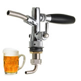 調整可能なドラフトビール蛇口ホームブリューディスペンサーケグタップ用フローコントローラG5/8シャンク