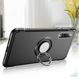 Bakeey 360° Rotating Ring Holder Magnetic Adsorption Shockproof Protective Case for Xiaomi Mi9 / Mi 9 Transparent Edition Non-original