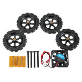 12V DC 4010 Cooling Fan + 4Pcs Hotbed Hand-wrenched Nuts + 4Pcs Powerful Compression Springs + 4Pcs Screw DIY Kits 3D Printer Accesso