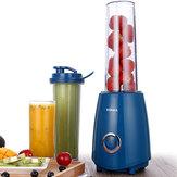 KONKA KJ-JF302 300W Elektrische Saftpresse Mixer mit zwei Flaschen Saft Gemüse Obst Milchshake Mixer