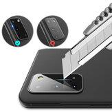 Hoco Anti-scratch HD Protecteur de lentille de caméra de téléphone en verre trempé transparent pour Samsung Galaxy S20 / Galaxy S20 5G 2020