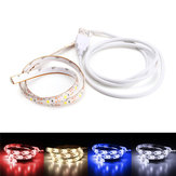 50CM USB Pure White Warm White Red Blue 2835 SMD Waterproof LED Strip Backlight for Home DC5V