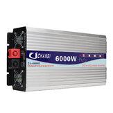 Écran intelligent Onduleur à onde sinusoïdale pure Convertisseur 12V / 24V à 240V 3000W / 4000W / 5000W / 6000W