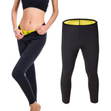 Unisex Neoprene Hot Body Accelerate Sweating Slimming Fitness Trousers Yoga Sports Pants