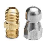 Buse de vidange à haute pression 1 Fil avant M14 de l'avant 3 pour le nettoyage de dragage de tuyau