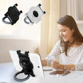 BONERUY with 360 Degree Rotation Grip Handle-Detachable Tablet Desktop Wall Mount Holder Stand for iPad Pro Devices between 7-10.5 inch