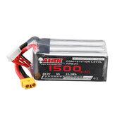 Alienmodel 22.2V 1500mAh 120C 6S Lipo Battery XT60 Plug for RC Drone