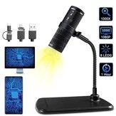 Microscope USB à loupe 1000X portable 3-en-1 8Led Smart Touch Prendre une vidéo photo