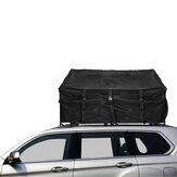 600D أكسفورد سقف السيارة رف علوي حقيبة تخزين الأمتعة حقيبة نقل البضائع ضد للماء UV واقية في الهواء الطلق التخييم السفر المنظم