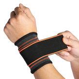 1pezzodisupportoperil polso supporto per il polso Nylon regolabile mano palm brace polso pad guanto di sicurezza manica