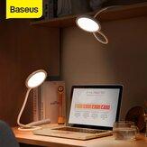 Baseus USB Light Manguera Desk Lámpara Lectura Eye Protector Touch Luz de estudio flexible que ahorra espacio con cable de datos