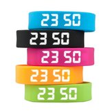 T5 Smart Sport Bracelet Auto Date Podemeter LED Display Five Colors Women Men Wristwatch