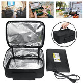 110V Electric Mini Portable Lunch Bag Oven Instant Food Heater Heating Warmer