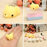 Tiger Squishy Squeeze Cute Healing Toy 4*3*2.5cm Kawaii Collection Stress Reliever Gift Decor
