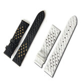 Leather first layer leather strap watches and women model The new fashion rivet strap buckle band fi
