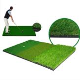 40x60 سنتيمتر ممارسة الغولف حصيرة العشب الاصطناعي Nylon العشب المطاط المحملة الفناء الخلفي ضربات التدريب الوسادة جولف اكسسوارات