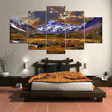 5 Cascade Lateau And Dusk Canvas Wall Painting Picture Home Decoration Bez ramki w tym Ins
