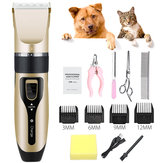 Professional Pet Cat Dog Clipper Grooming Trimmer Kit