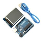 UNO R3 USB Development Board With 2.8 Inch TFT Touch Display Module Geekcreit for Arduino - products that work with official Arduino boards